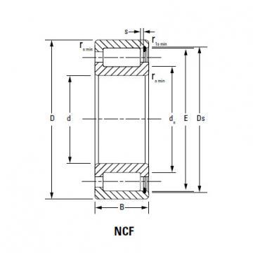 CYLINDRICAL ROLLER BEARINGS TWO Row NNU49/500MAW33