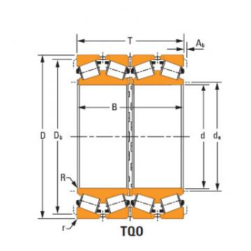 four-row tapered roller Bearings ee517060d 517118Xd