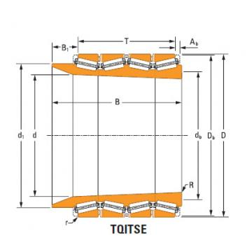 four-row tapered roller Bearings tQitS lm280030T lm280010d double cup