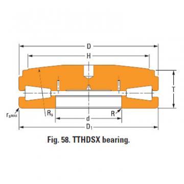 screwdown systems thrust tapered bearings T9030fsB-T9030sc