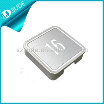 Floor indicator metal push button with anti-impact design