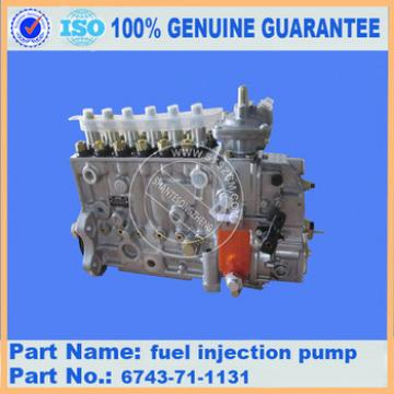 fast delivery excavator spare parts,PC360-7 fuel injection pump 6743-71-1131