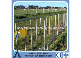 classical high quality hot dipped galvanized durable and anti-rust used metal Crowed Control Barrier event barrier