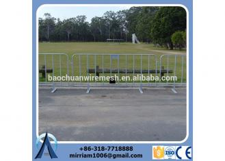 customizable high quality hot sale good price durable anti-rust used hot dipped gal metal Crowed Control Barrier event barrier