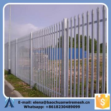 Rails 45 mm x 45 mm Steel Palisade Fence
