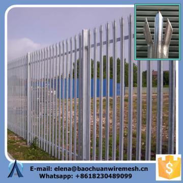 Rails 40 mm x 40 mm Steel Palisade Fence