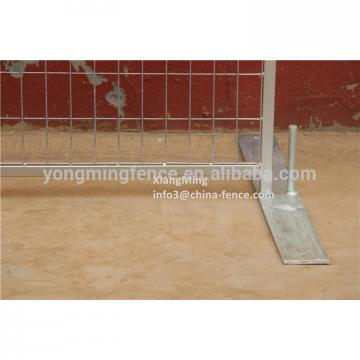 Galvanized outdoor steel mesh temporary boundry fence