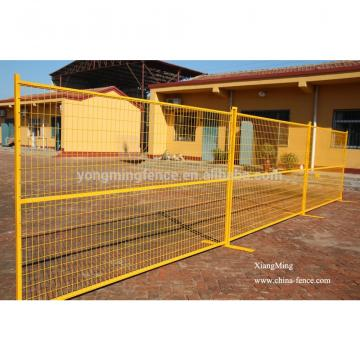 portable iron construction site temporary dog fence