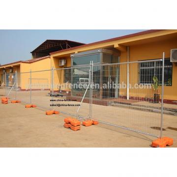 portable iron construction site temporary dog fence