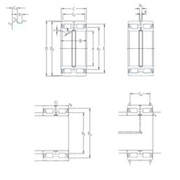 Cylindrical Roller Bearings Distributior NNF5024ADA-2LSV SKF #1 image