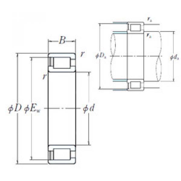 Cylindrical Bearing NCF2956V NSK #1 image