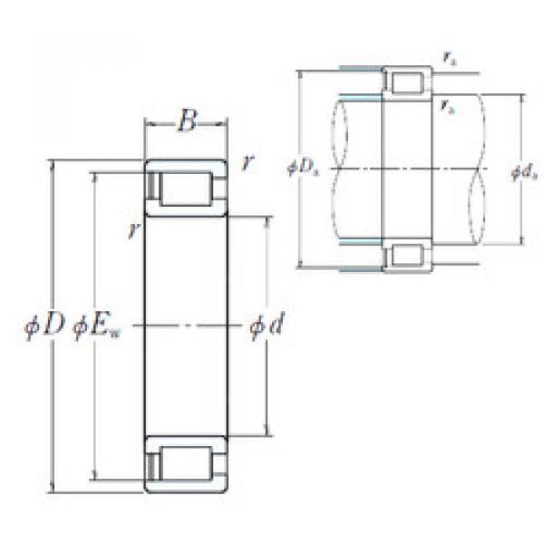 Cylindrical Bearing NCF3068V NSK #1 image
