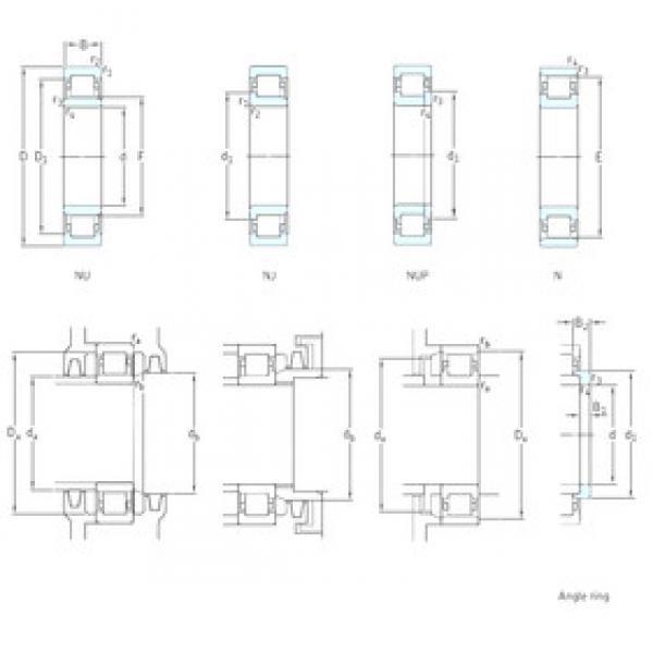 Cylindrical Bearing NJ238ECML SKF #1 image