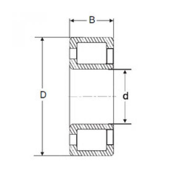 Cylindrical Bearing NJG 2311 VH SIGMA #1 image