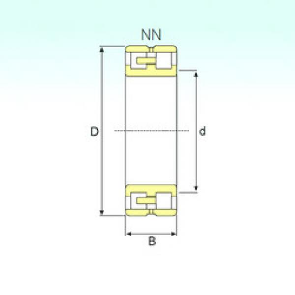Cylindrical Bearing NN 3011 KTN/SP ISB #1 image