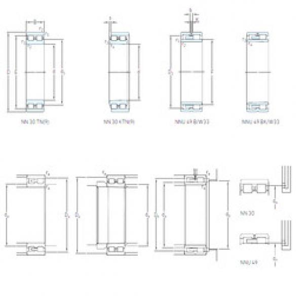 Cylindrical Bearing NN 3008 KTN/SP SKF #1 image