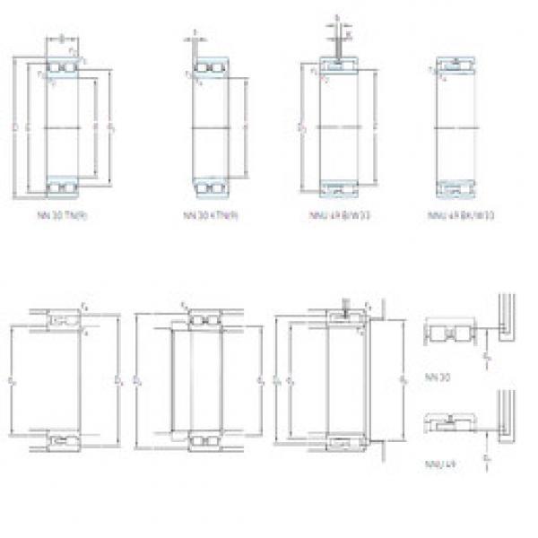 Cylindrical Bearing NN 3010 TN/SP SKF #1 image