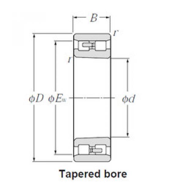 Cylindrical Bearing NN4956K NTN #1 image