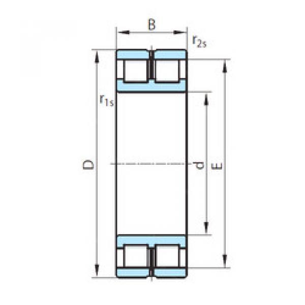 Cylindrical Bearing NNCL4980V PSL #1 image