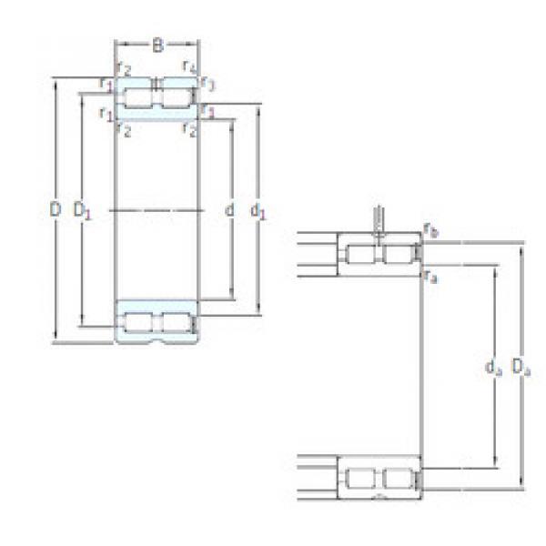 Cylindrical Bearing NNCF4852CV SKF #1 image