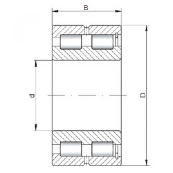 Cylindrical Bearing NNCF5004 V ISO #1 image