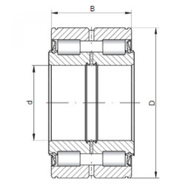 Cylindrical Bearing NNF5018 V ISO #1 image
