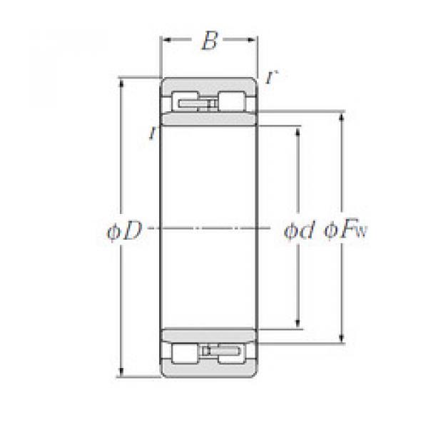 Cylindrical Roller Bearings Distributior NNU4956 NTN #1 image