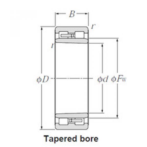 Cylindrical Roller Bearings Distributior NNU4922K NTN #1 image