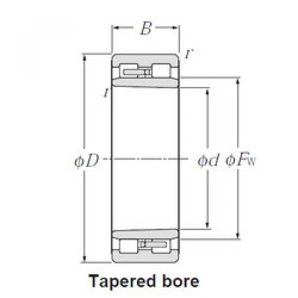 Cylindrical Roller Bearings Distributior NNU4940K/W33 CYSD #1 image