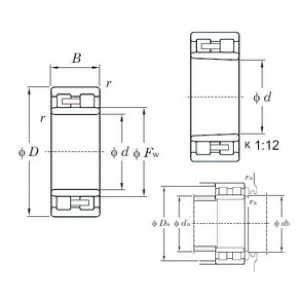 Cylindrical Roller Bearings Distributior NNU4968K KOYO #1 image