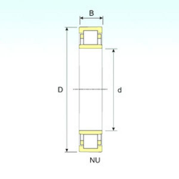 Cylindrical Roller Bearings Distributior NU 20/600 ISB #1 image