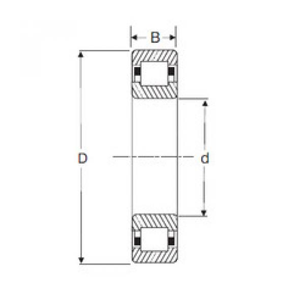 Cylindrical Roller Bearings Distributior NUP 314 SIGMA #1 image