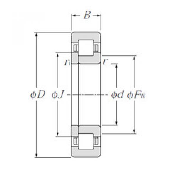 Cylindrical Roller Bearings Distributior NUP1056 NTN #1 image