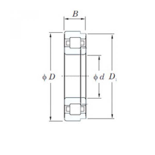 Cylindrical Roller Bearings Distributior NUP2310R KOYO #1 image