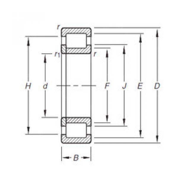 Cylindrical Roller Bearings Distributior NUP210E.TVP Timken #1 image