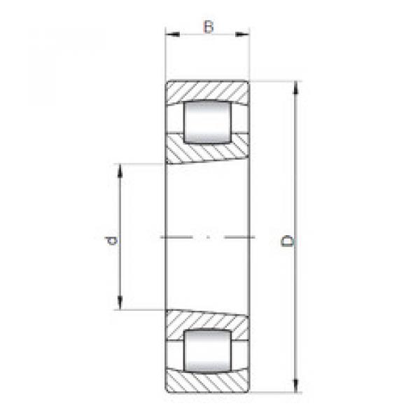 Spherical Roller Bearings 20312 K ISO #1 image
