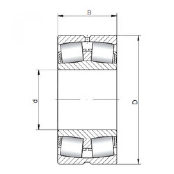 Spherical Roller Bearings 23080W33 ISO #1 image