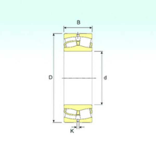 Spherical Roller Bearings 238/1000 ISB #1 image