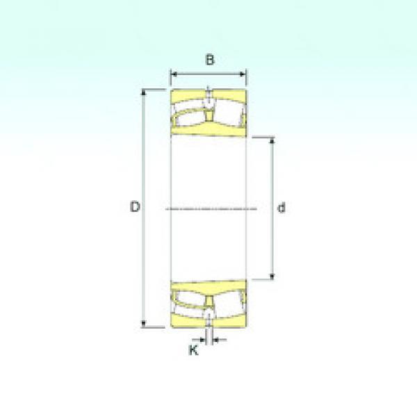 Spherical Roller Bearings 22224 K ISB #1 image