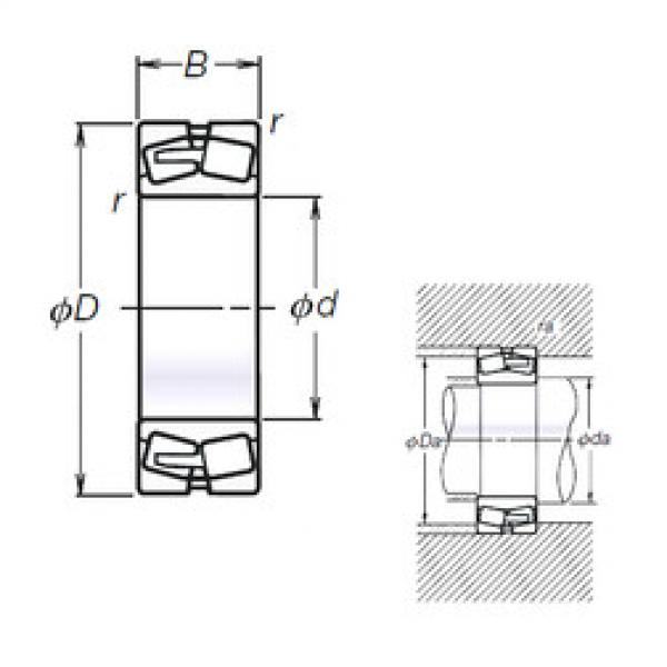 Spherical Roller Bearings 21308L11ACAM NSK #1 image