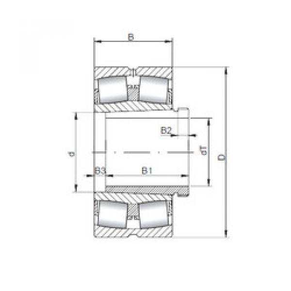 Spherical Roller Bearings 22338 KCW33+AH2338 ISO #1 image