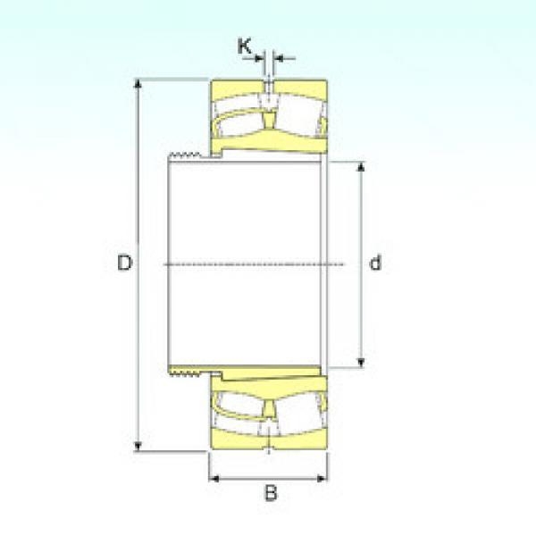 Spherical Roller Bearings 21312 K+AHX312 ISB #1 image