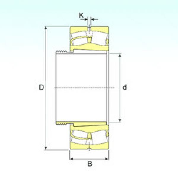 Spherical Roller Bearings 22330 EKW33+AHX2330 ISB #1 image