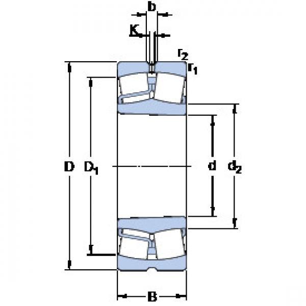 Spherical Roller Bearings 22311 EK/VA405 SKF #1 image