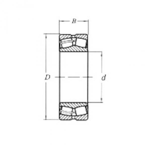 Spherical Roller Bearings 23038MW33 CRAFT #1 image