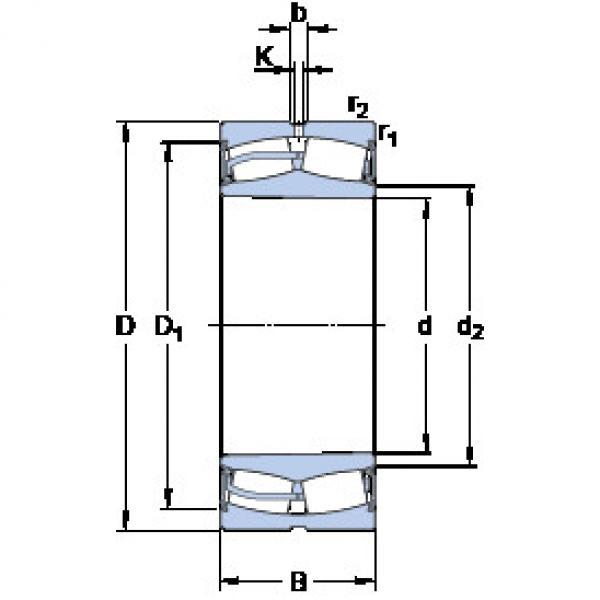 Spherical Roller Bearings 22240-2CS5K/VT143 SKF #1 image