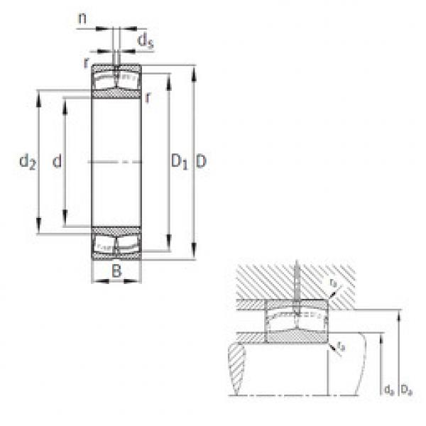Spherical Roller Bearings 22340-MB FAG #1 image