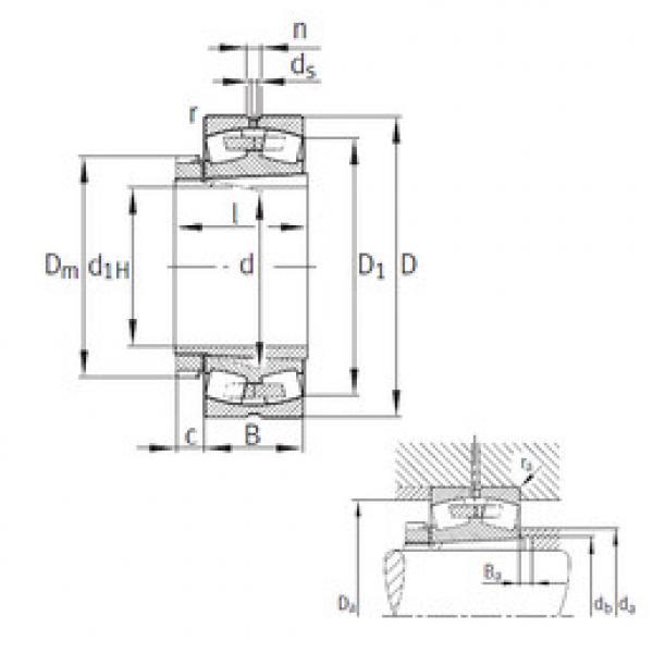 Spherical Roller Bearings 22240-B-K-MB FAG #1 image