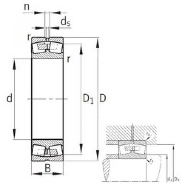 Spherical Roller Bearings 23144-B-MB FAG #1 image