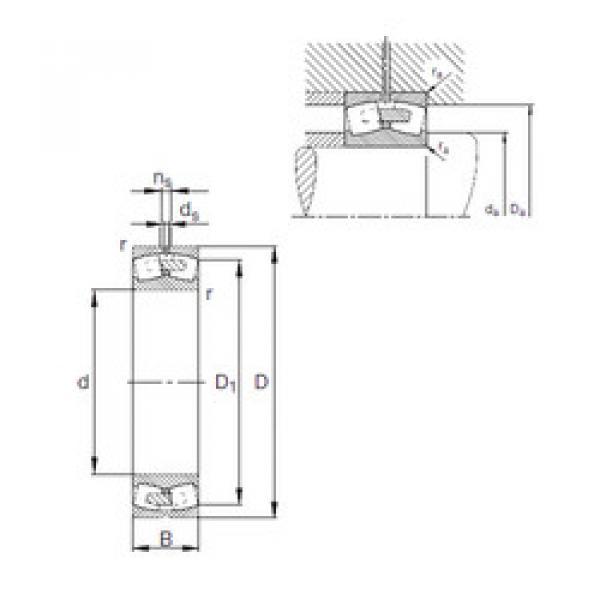Spherical Roller Bearings 23296-E1A-MB1 FAG #1 image